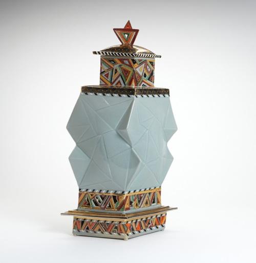 Glazed Art Piece, Lot 162