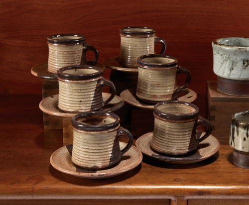 Ralph Baccera, Cups and Saucers (6), Lot 166