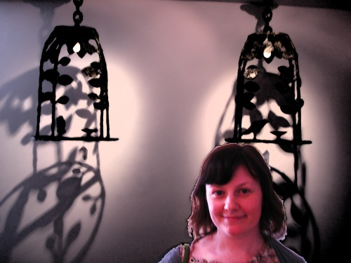 Claire Cregan and the Giacometti Chandeliers