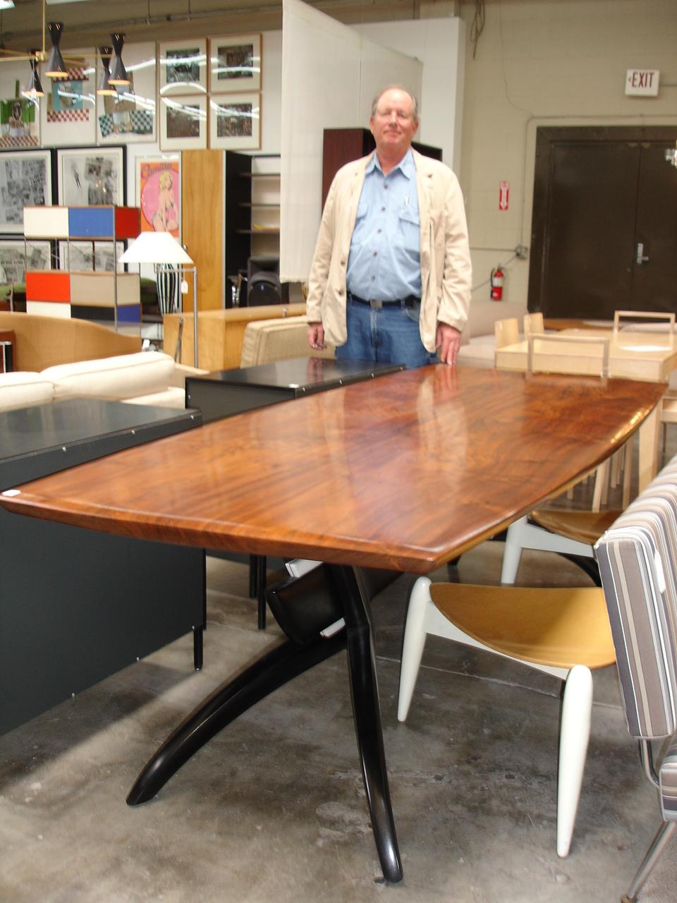 Robert Brown and his Shibumi Table