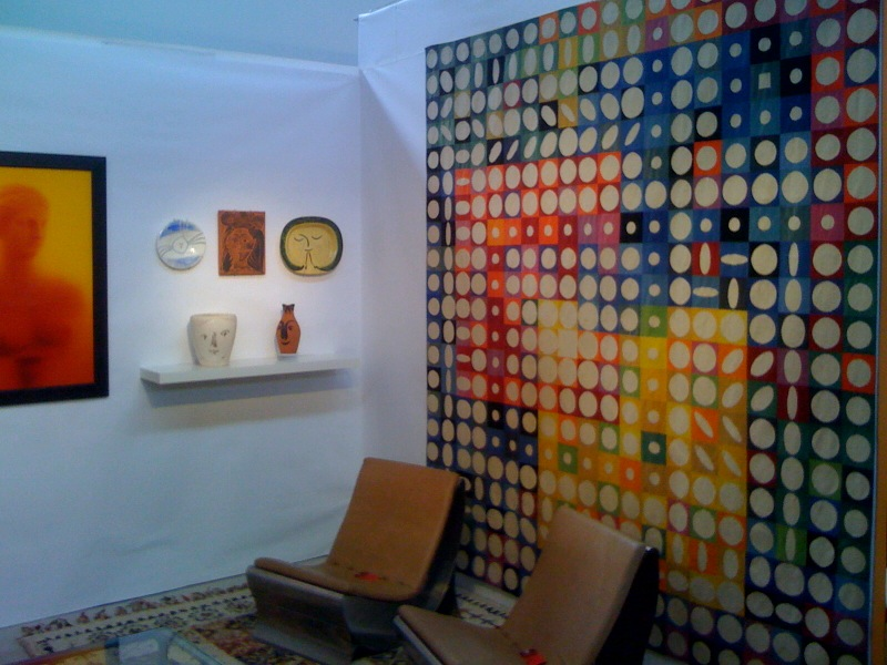 Vasarely Tapestry
