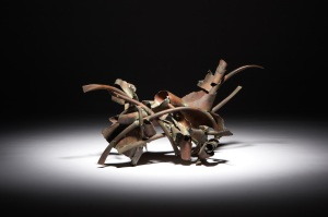 Lot 103, Claire Falkenstein Sculpture, Welded bronze, $15,000 - 20,000