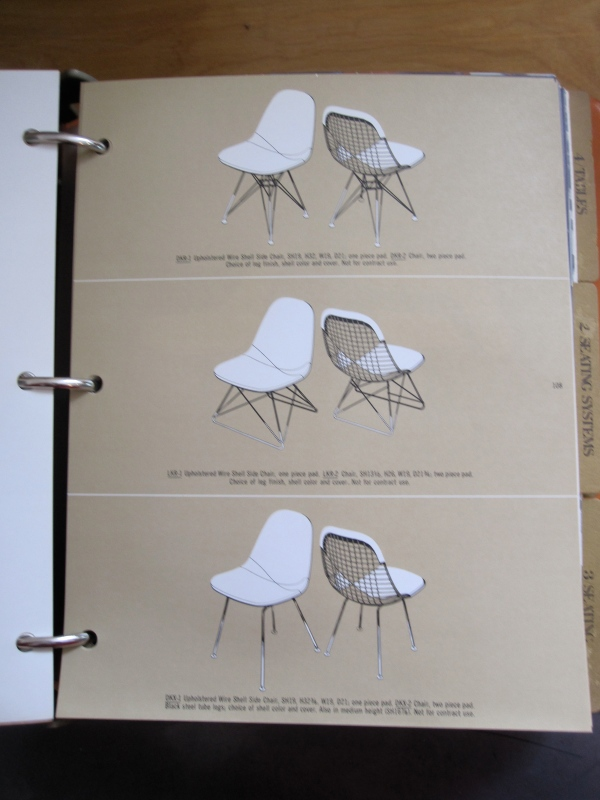 Shell Side Chair with various legs