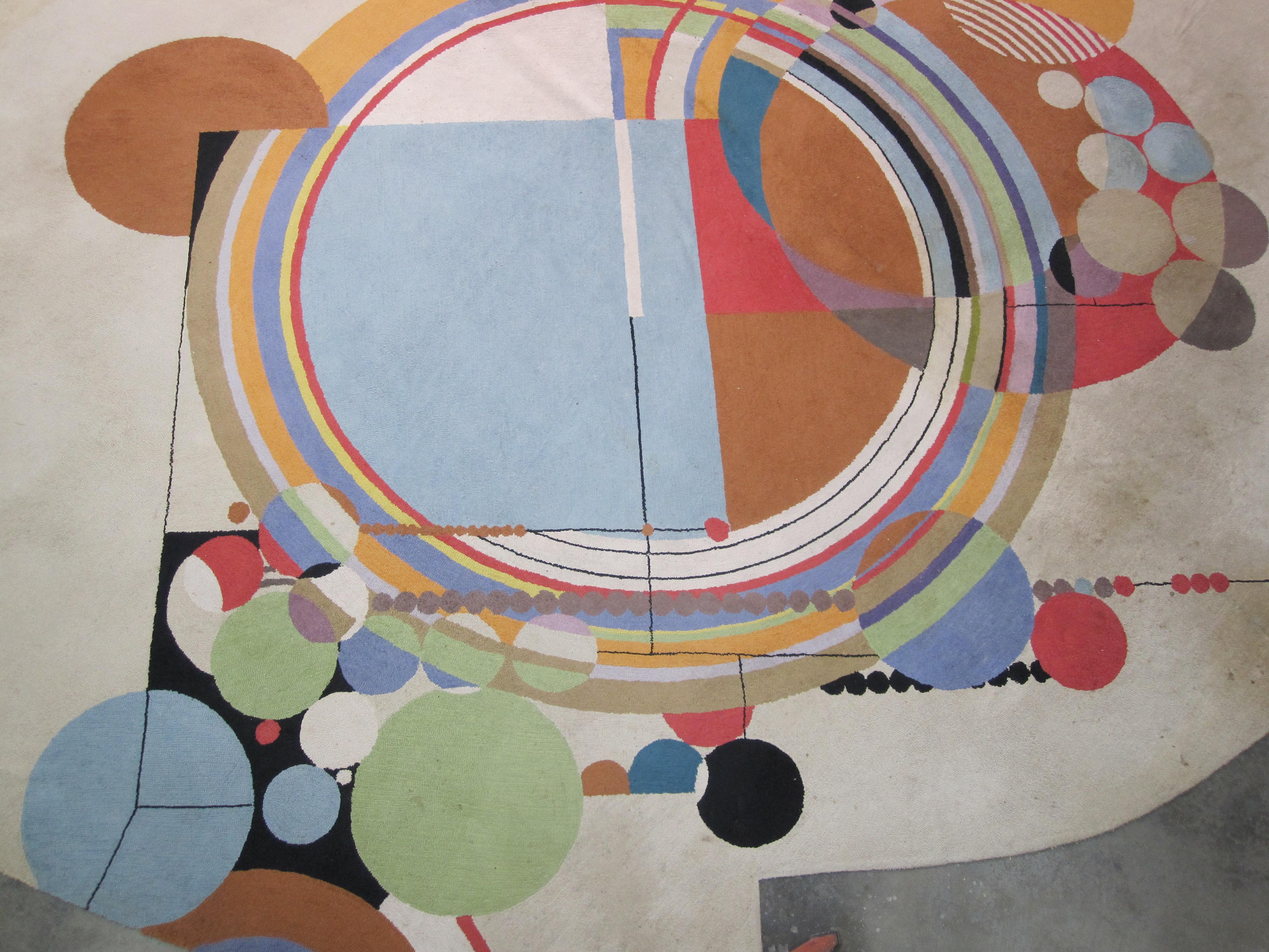 Frank lloyd wright rug revealed los angeles modern auctions blog - Frank lloyd wright rugs ...