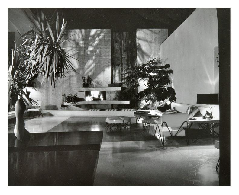 A Quincy Jones Brody House Photograph By Julius Shulman