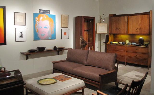 Los Angeles Antiques Show Los Angeles Modern Auctions Blog - La modern furniture