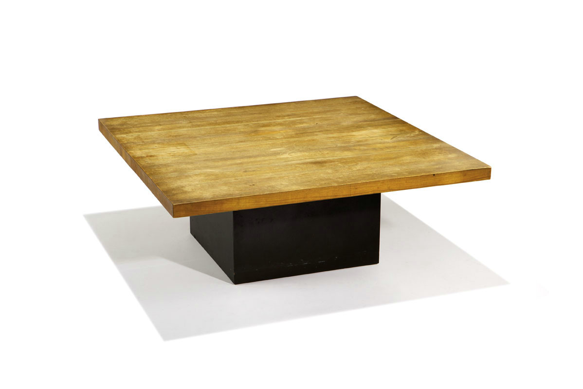 Marcel breuer furniture from stillman i ii and iii los angeles lot 44 marcel breuer coffee table geotapseo Images