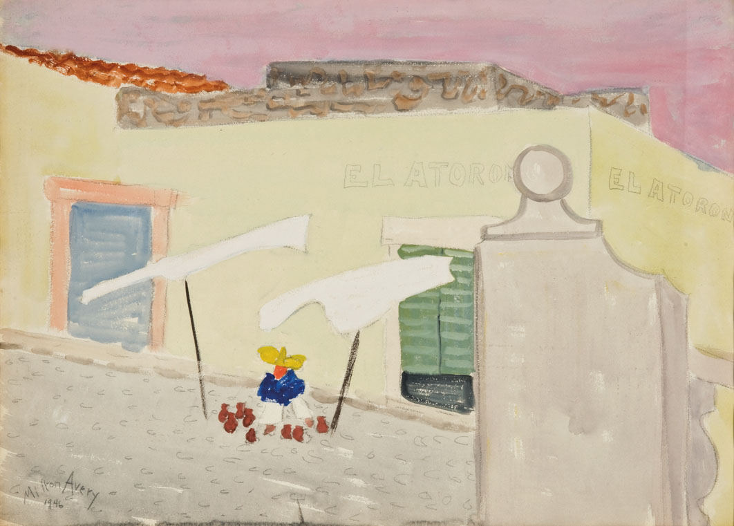 Milton Avery The Mexico Years Los Angeles Modern